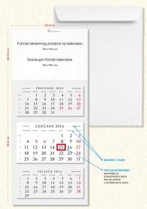 Web slika trodjelnog kalendara 2016_cijena na jednom kalendaru